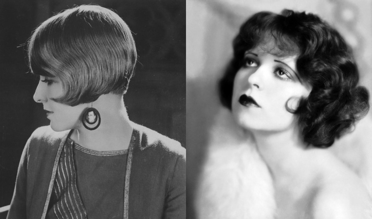 1920's bobbed haircut