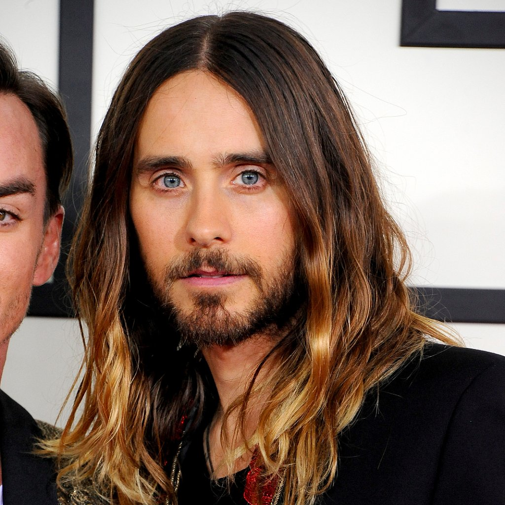 Cut AND Color Jared Leto Is Also PlatinumBlonde