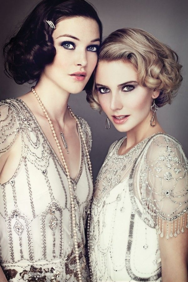 The Great Gatsby inspired wedding hairstyles