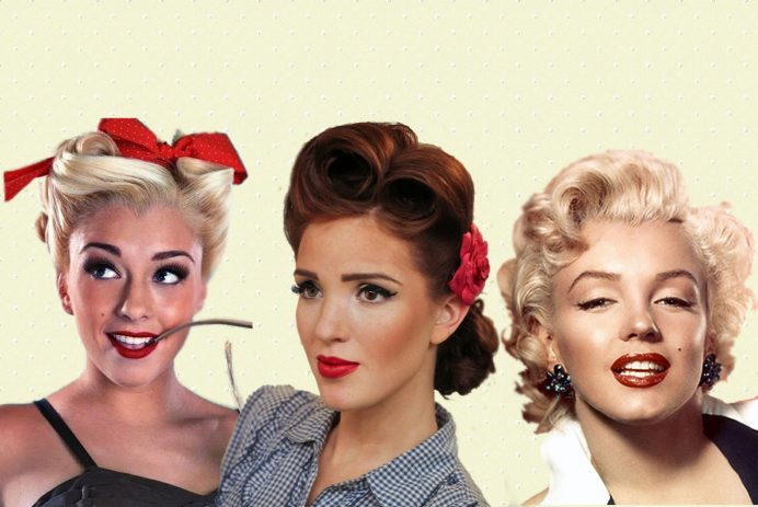 best retro hairstyles