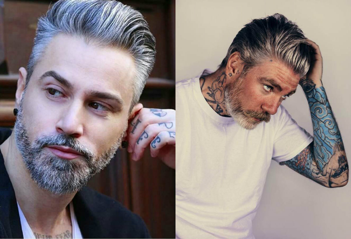 Mens Gray Hair Color Best Hairstyles 2018