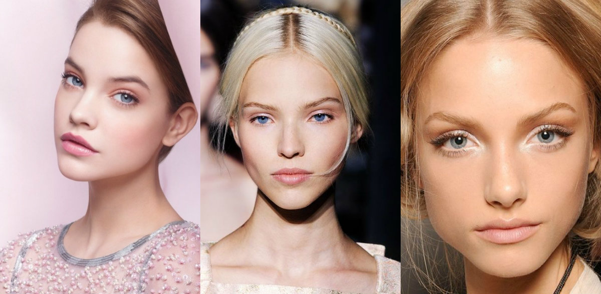fall 2016 easy wedding hairstyles and nude make up