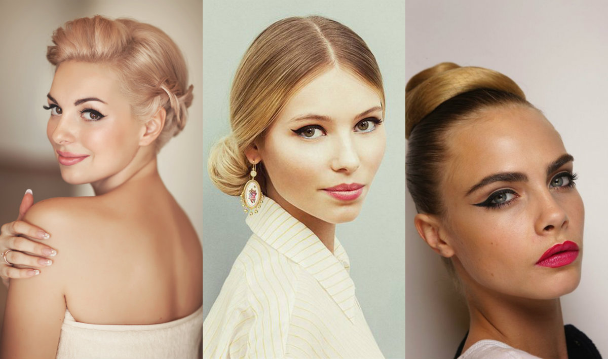 fall wedding hairstyles and cat eyes