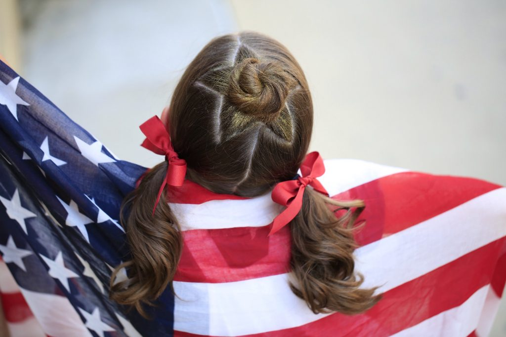 fourth of july hairstyles for girls
