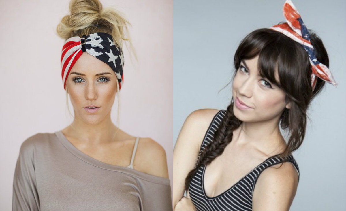 fourth of july hairstyles with headbands