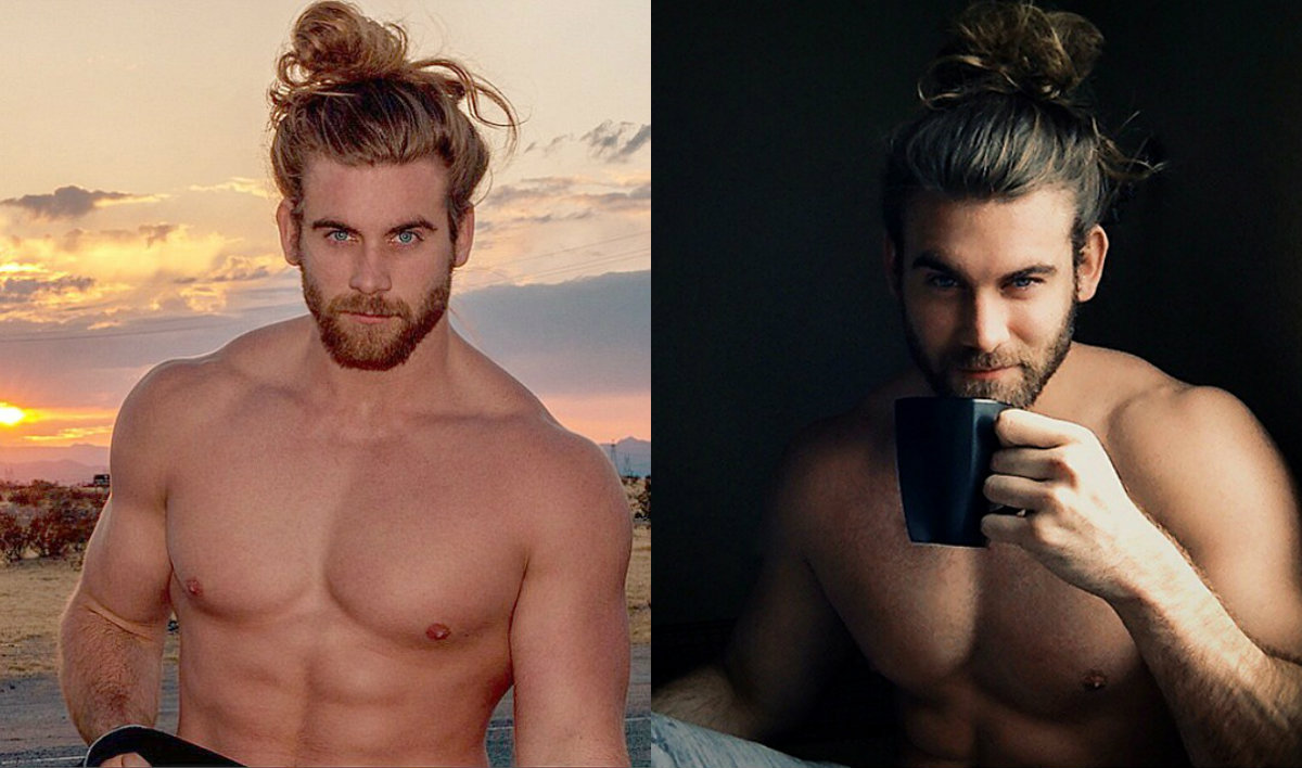 long hairstyles and top knots for men