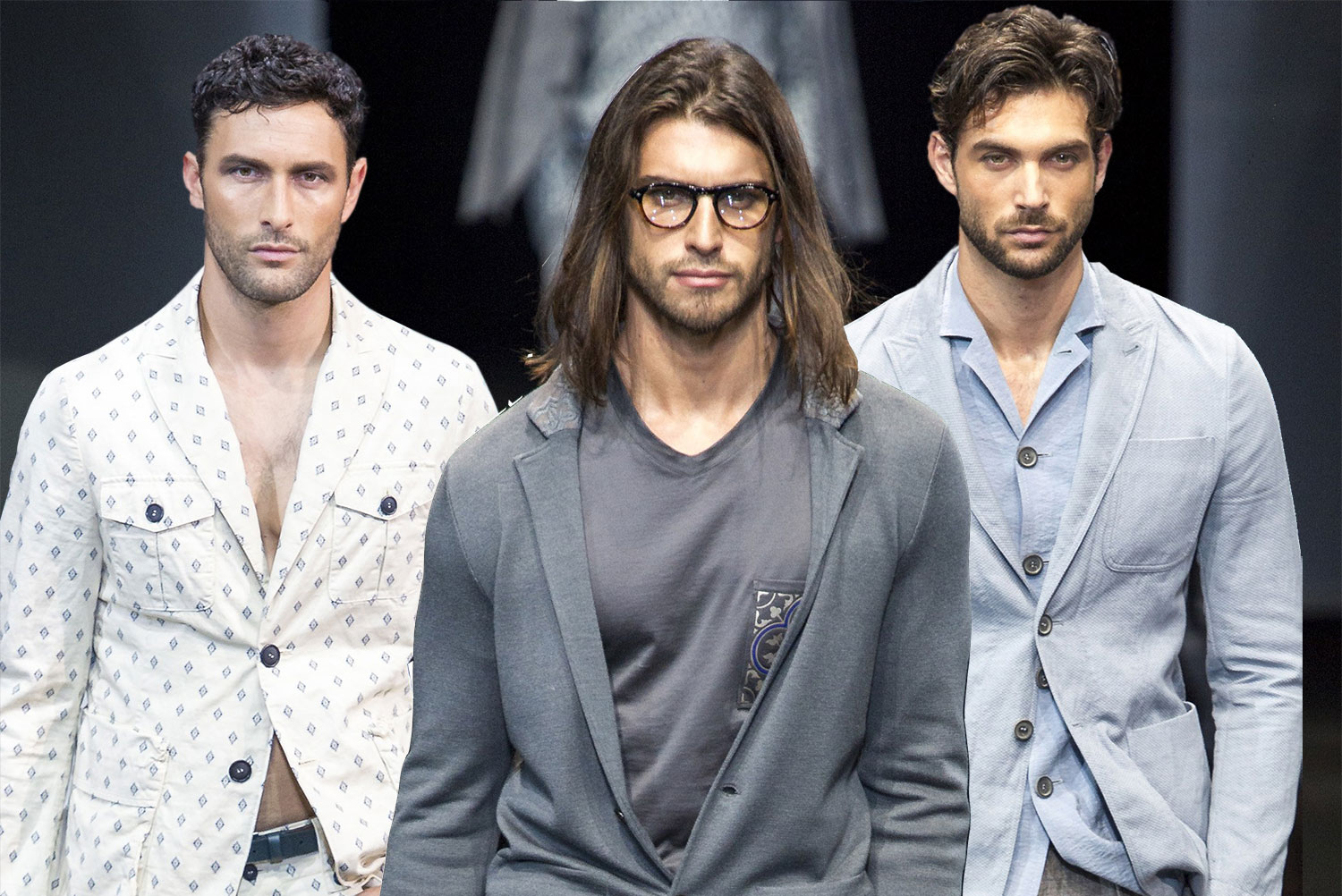 Spring 2017 Mens Hairstyles From Menswear Collections Hairdrome