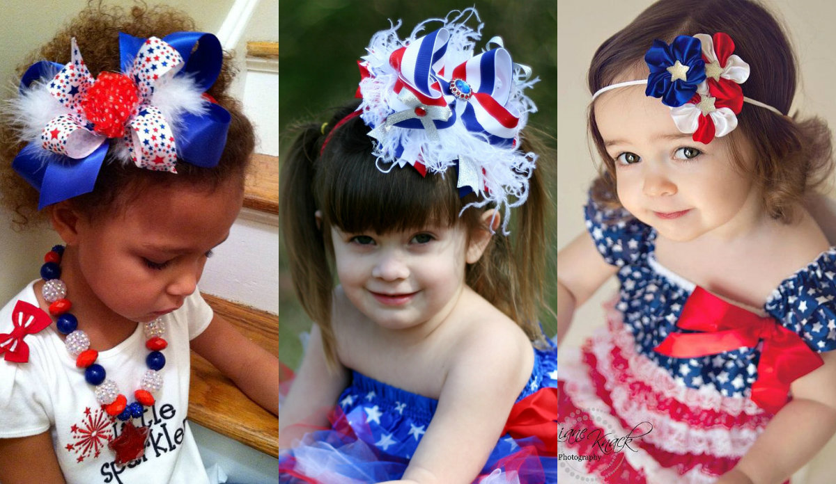 patriotic hairstyles for girls