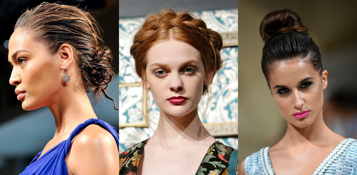 wedding hairstyles ideas from runways