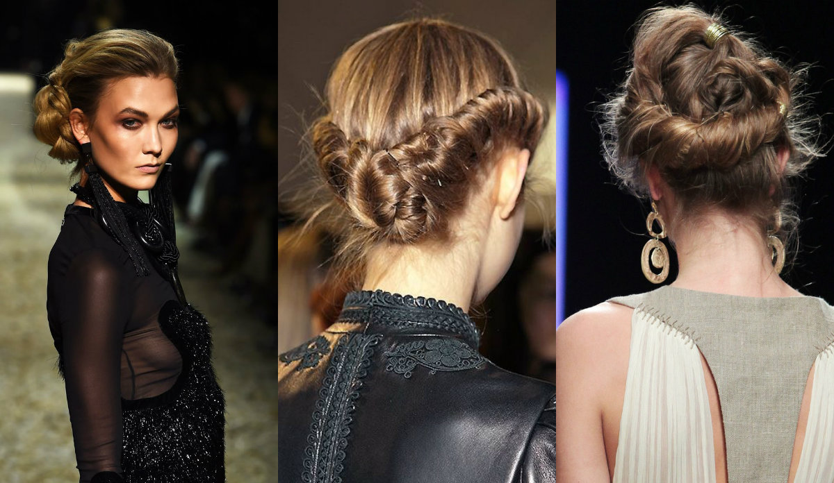 wedding updo hairstyles from runways