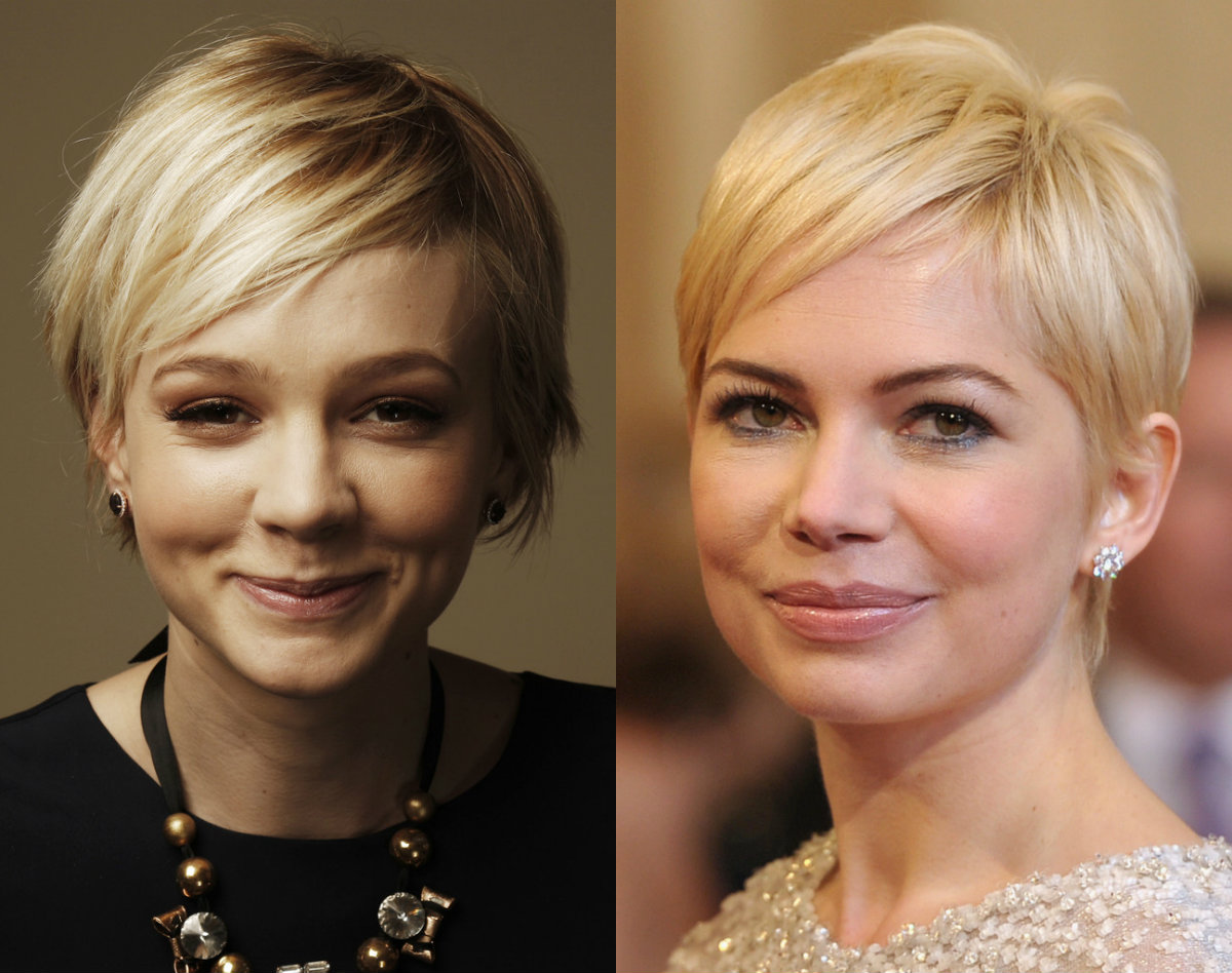 Carey Mulligan pixie haircuts
