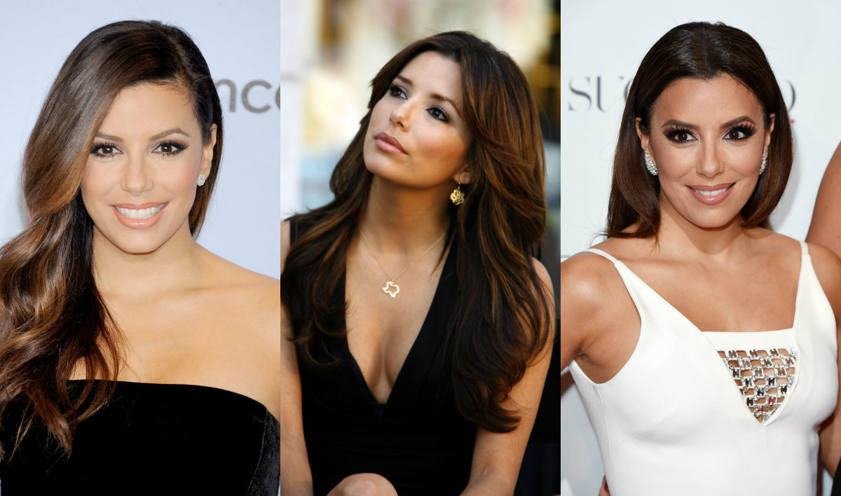 Eva Longoria brunette hair colors