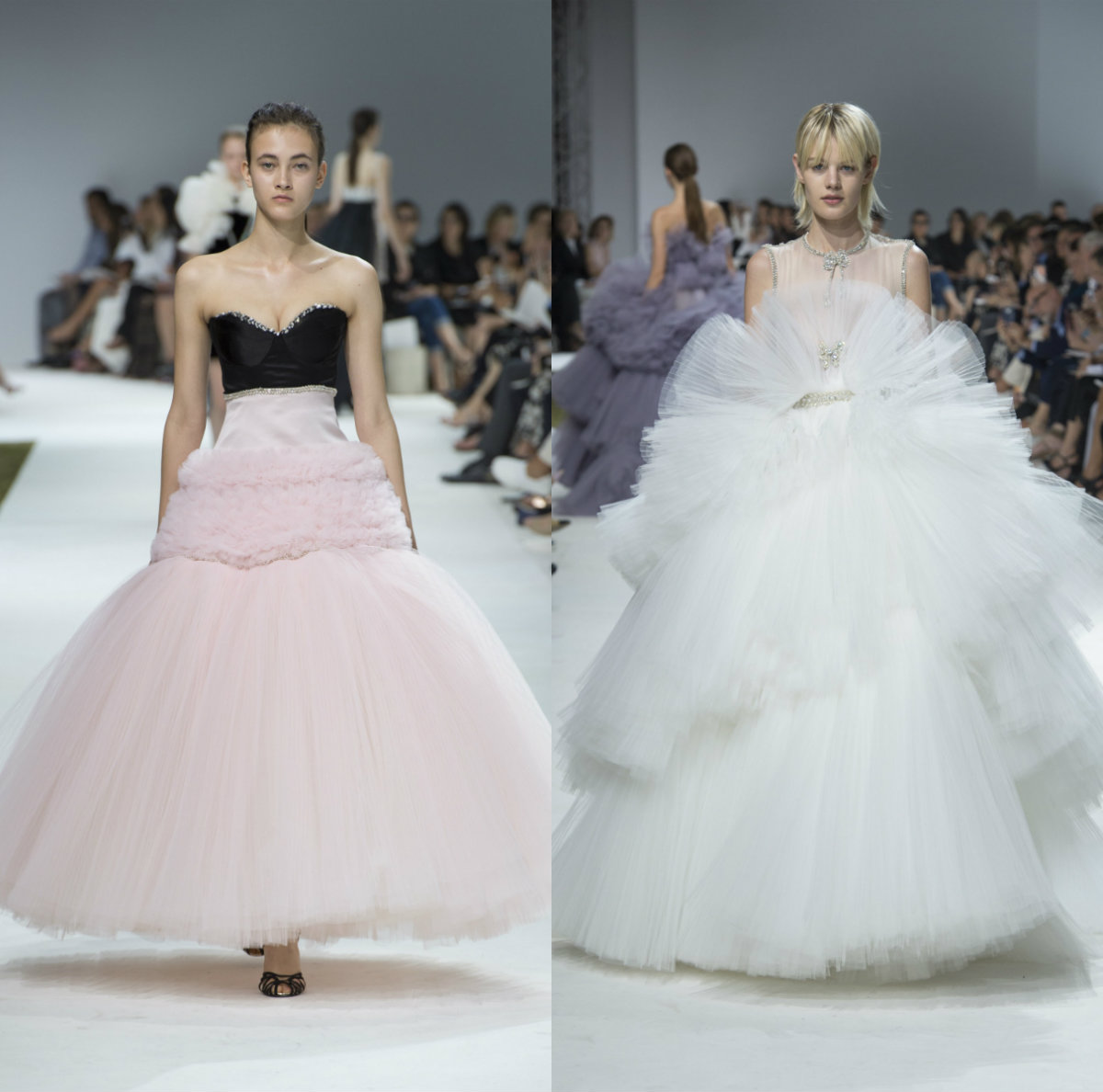 Giambattista Valli simple hairstyles 2017