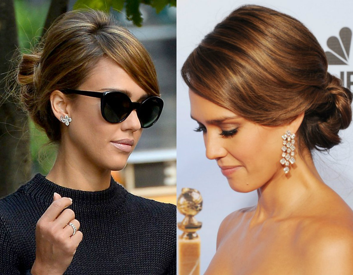 Photos of celebrity hair up hairstyles - Hairfinder