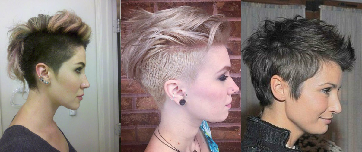 Wondrous Mohawk Hairstyles For Women That Have Something To Say Short Hairstyles For Black Women Fulllsitofus
