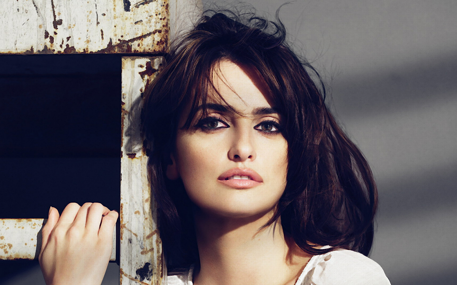 Penelope Cruz dark brown hair shades