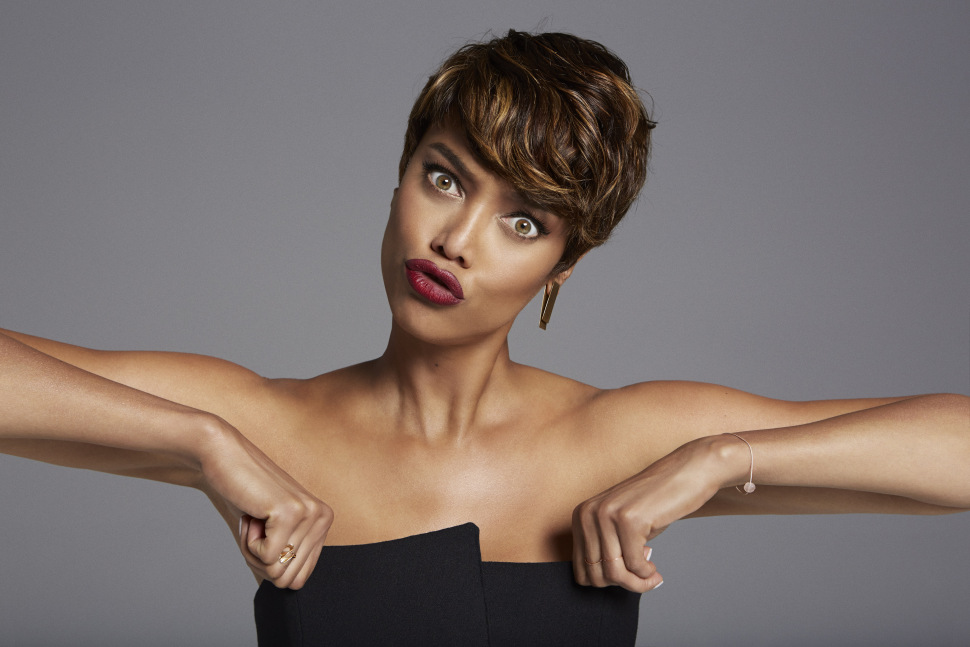 Tyra Banks short pixie haircuts