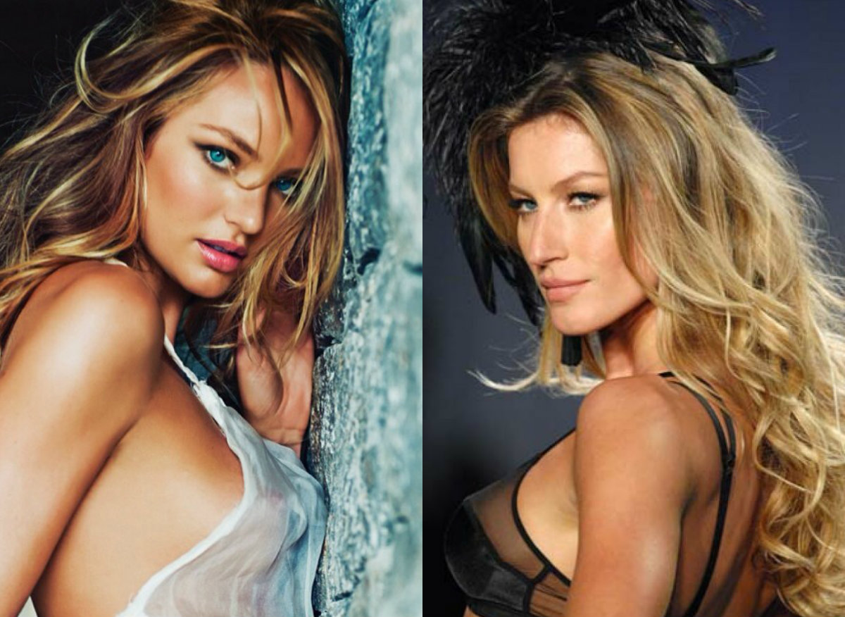 Chic Lingerie Models Perfect Long Hairstyles Hairstyles