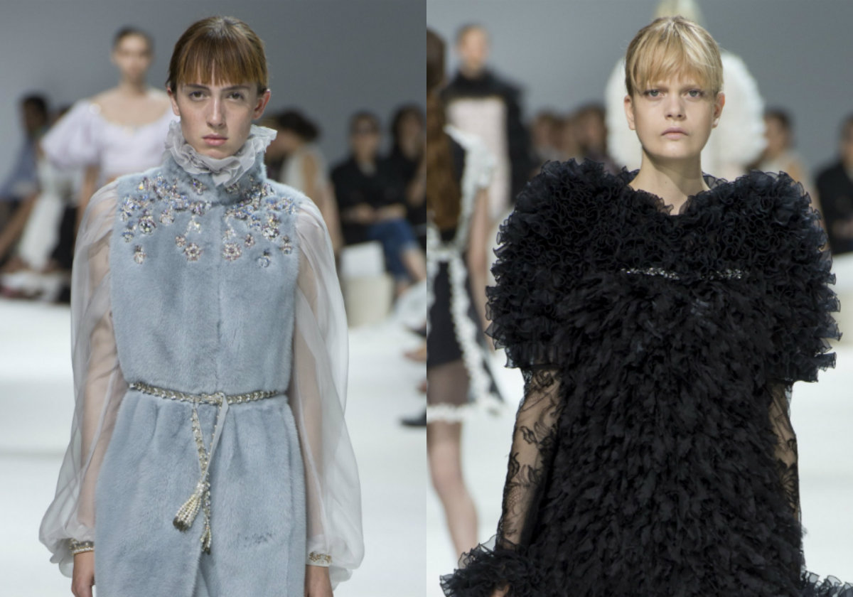 bangs hairstyles Giambattista Valli