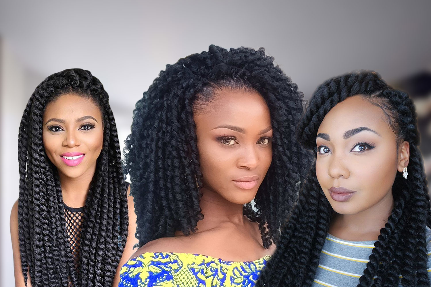 Crochet Braids Hairstyles Curls Or Twists Hairstyles Haircuts