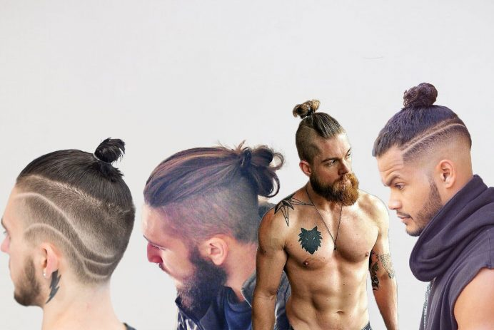 best male top knots