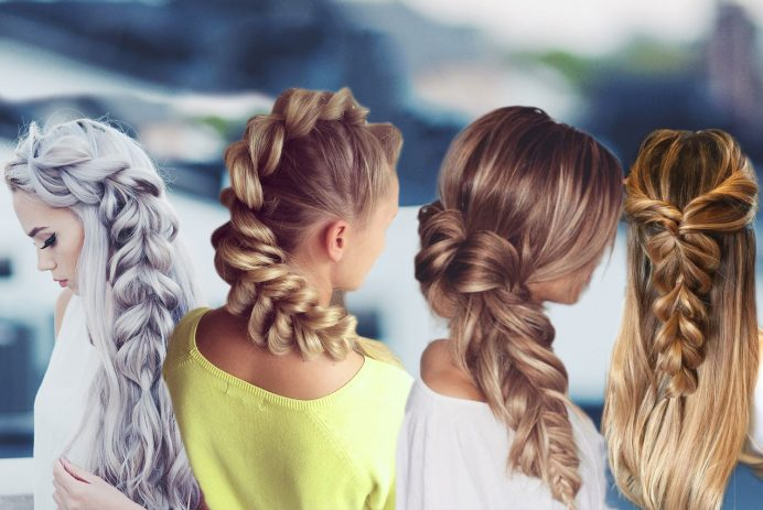 best pull through braids hairstyles