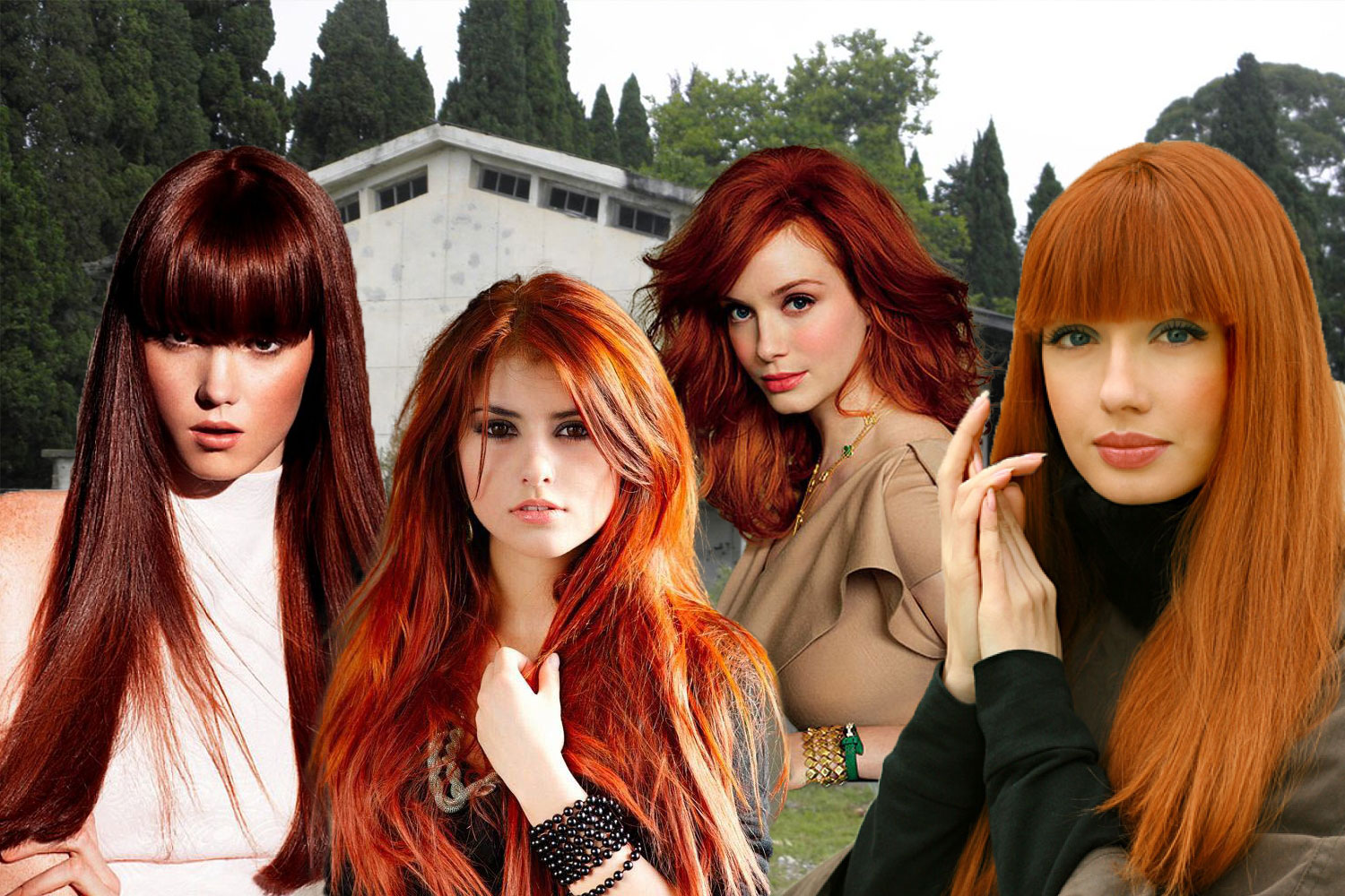 Complete Palette Of Red Hair Colors Universe Hairstyles Haircuts