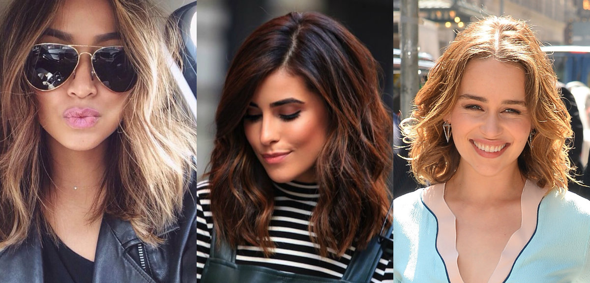 best wavy lob haircuts