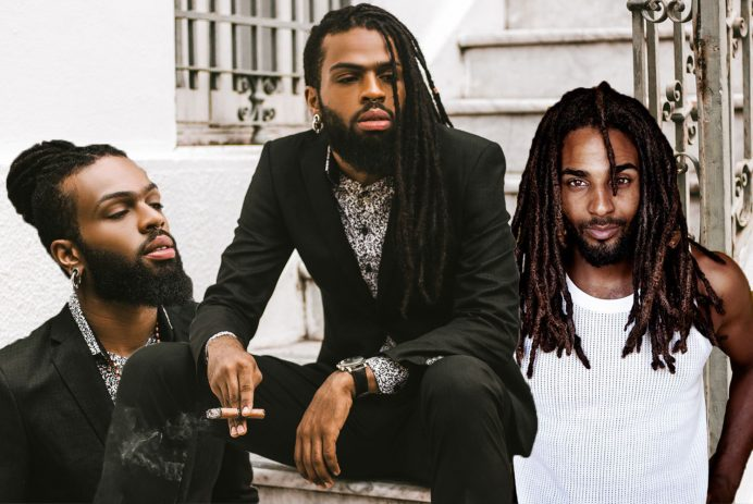 black men dreadlocks hair