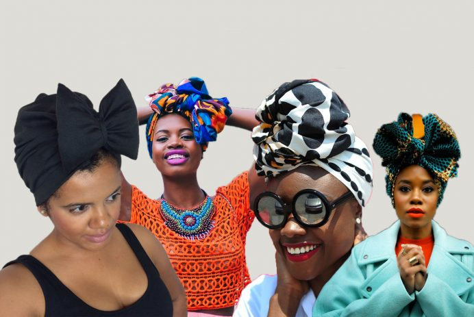 black women hairstyles with head wraps