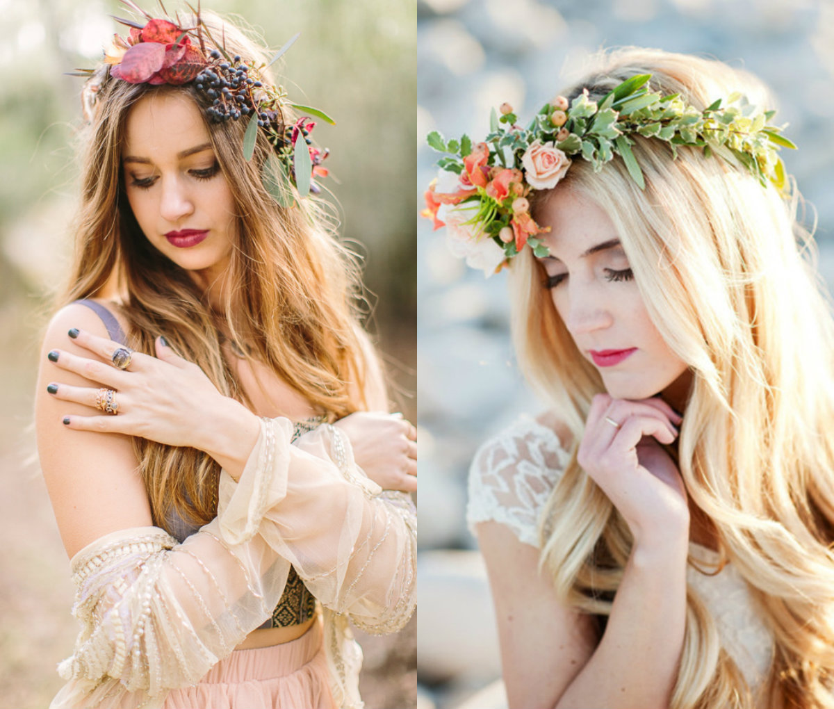 Wedding Hairstyle Crown: Flower Crown Wedding Hairstyles To Marry This Summer