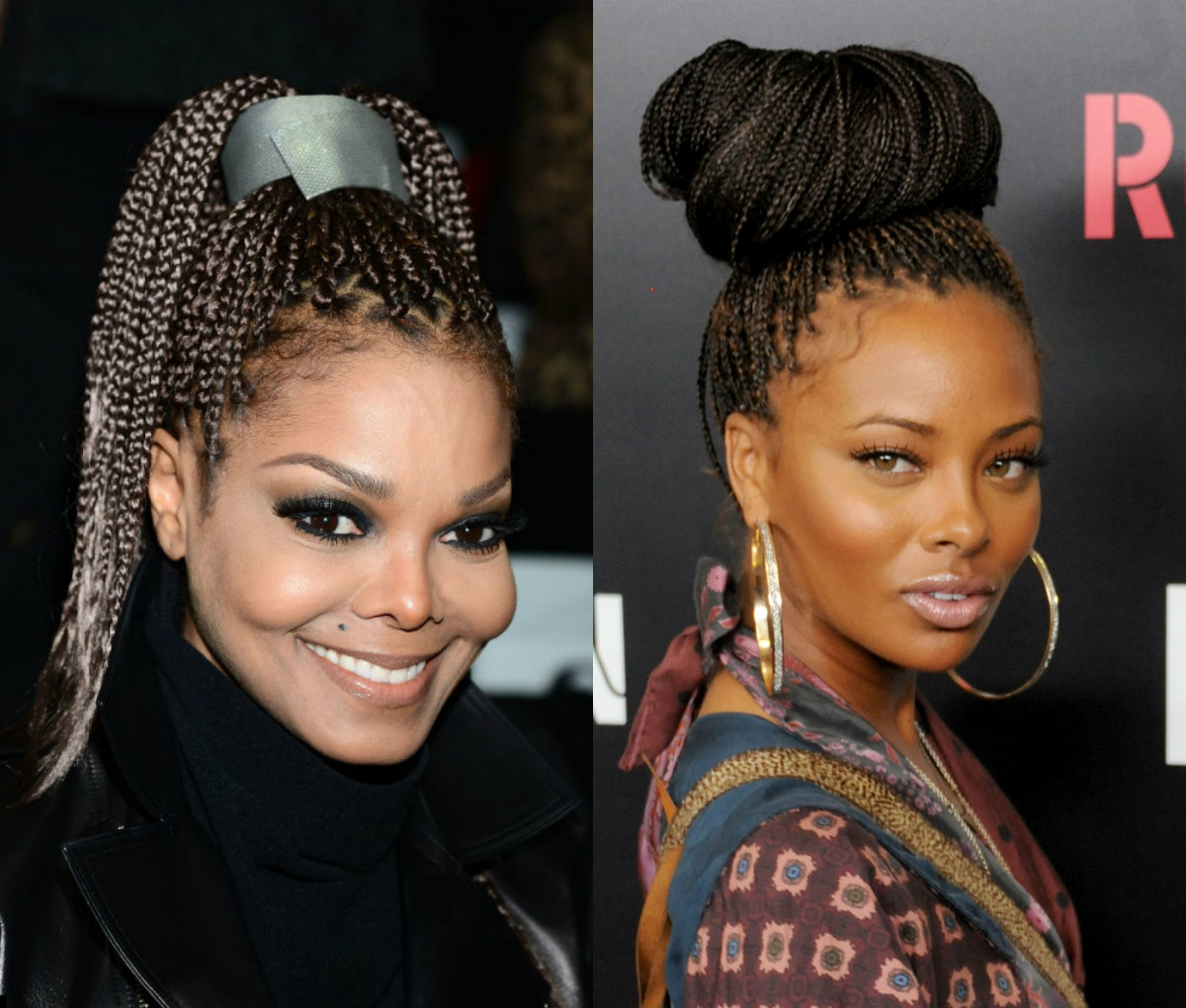 Wedding Hairstyles With Box Braids: Big Box Braids For Black Women To Style Immediately