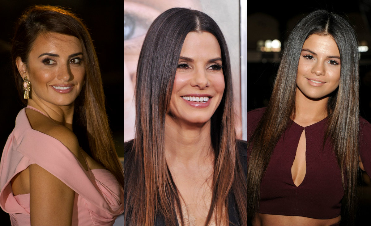 celebrity extra slick hairstyles