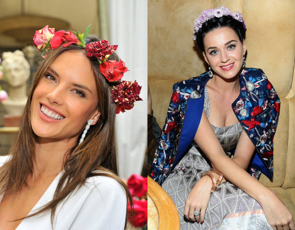 celebrity flower crowns for wedding