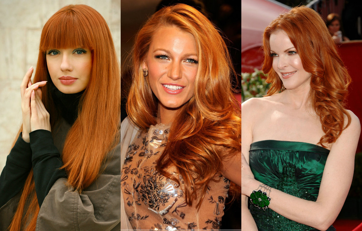 Complete Palette of Red Hair Colors Universe | Hairstyles ...