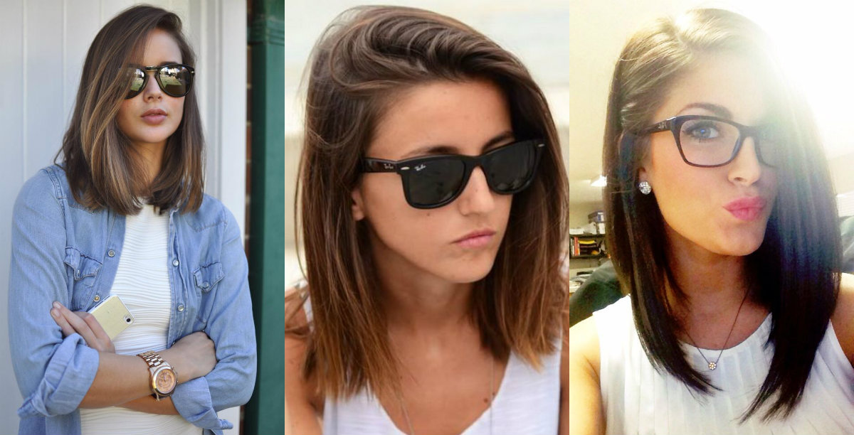 cute straight lob hairstyles