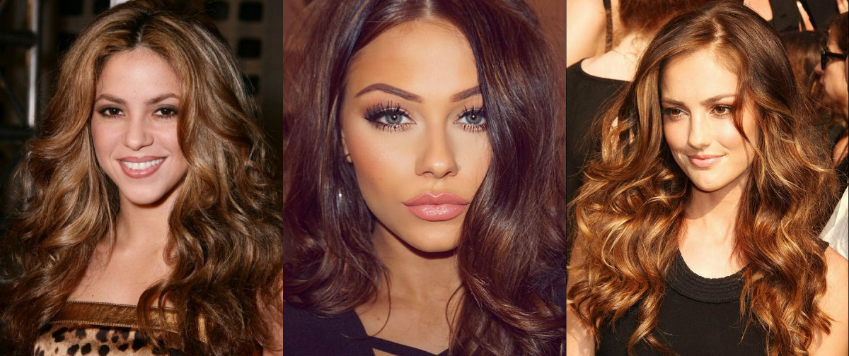dark golden brown hair shades
