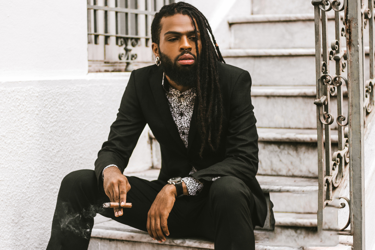 Outstanding Black Men Dreads Hairstyles For Real Winners Hairstyles Hairstyle Inspiration Daily Dogsangcom