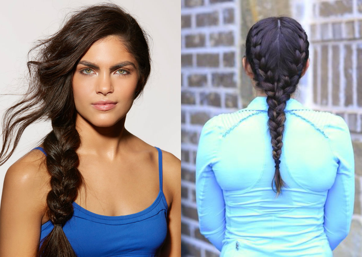 easy simple workout hairstyles to glam up in