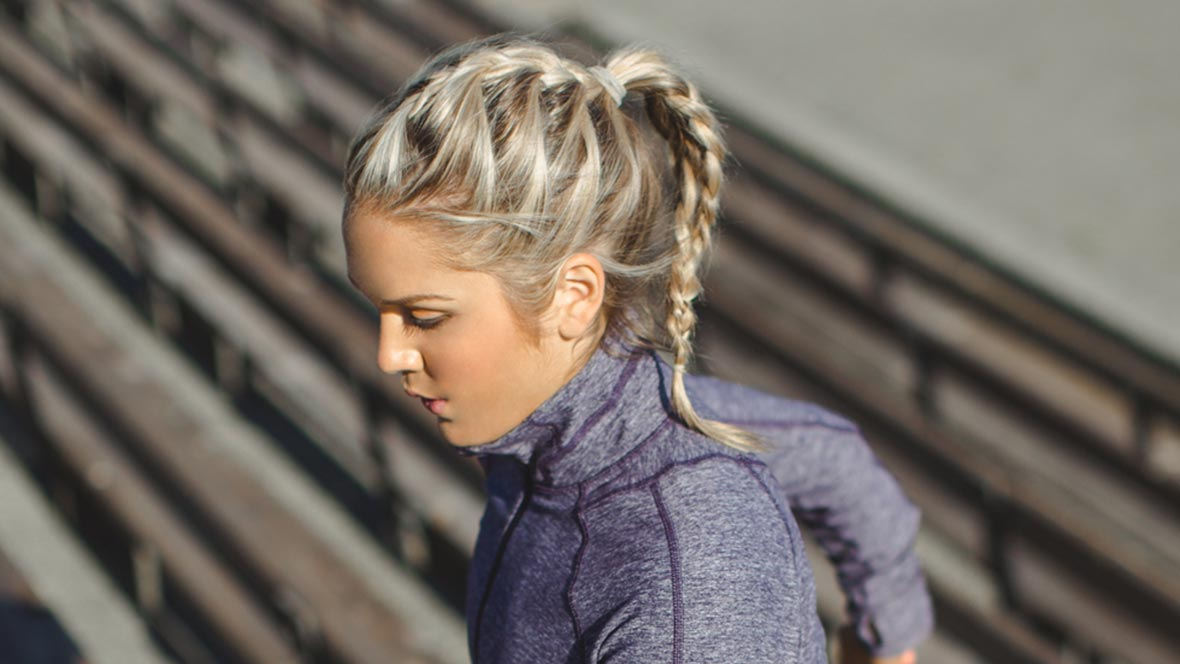 Best Haircuts For Runners : Simple workout hairstyles to glam up in gym haircuts