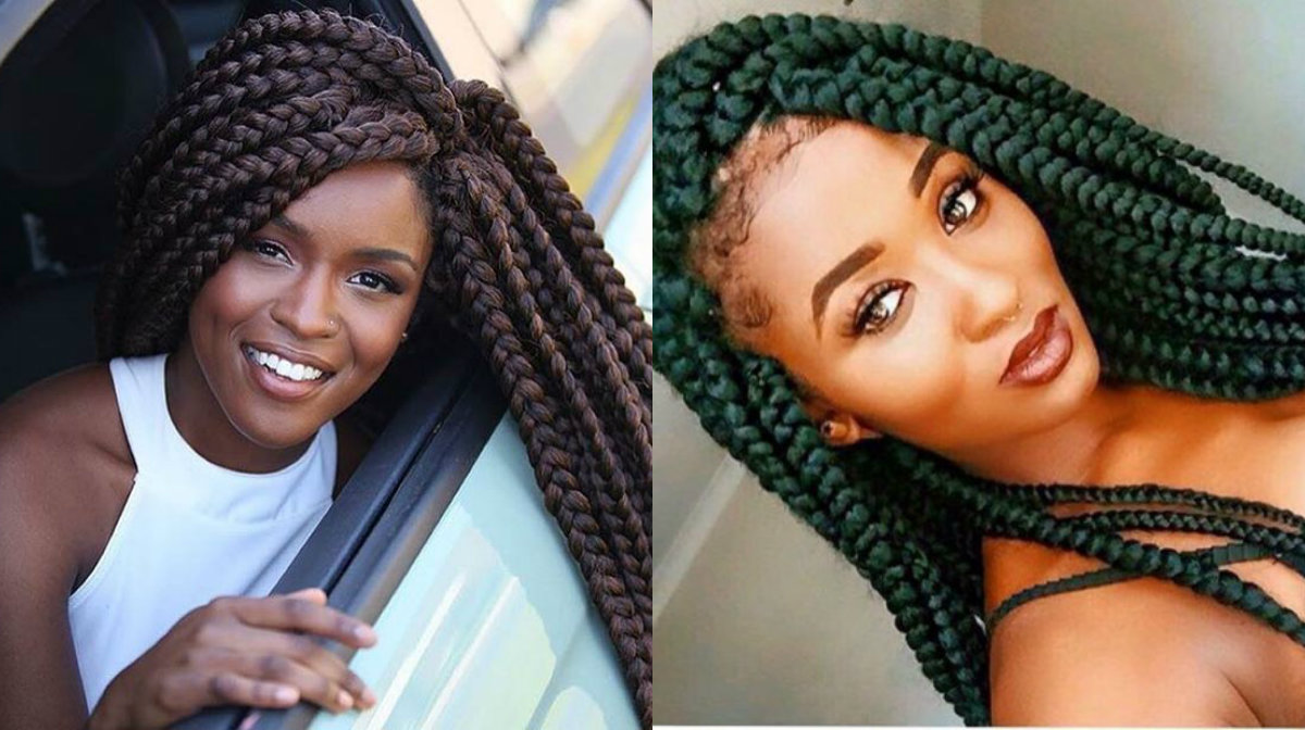 Super Hairstyles With Big Box Braids Braids Hairstyle Inspiration Daily Dogsangcom