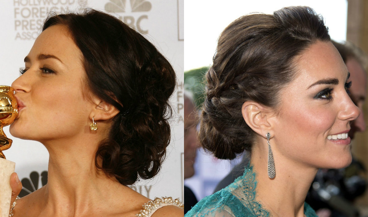 intricate celebrity updo hairstyles for wedding looks