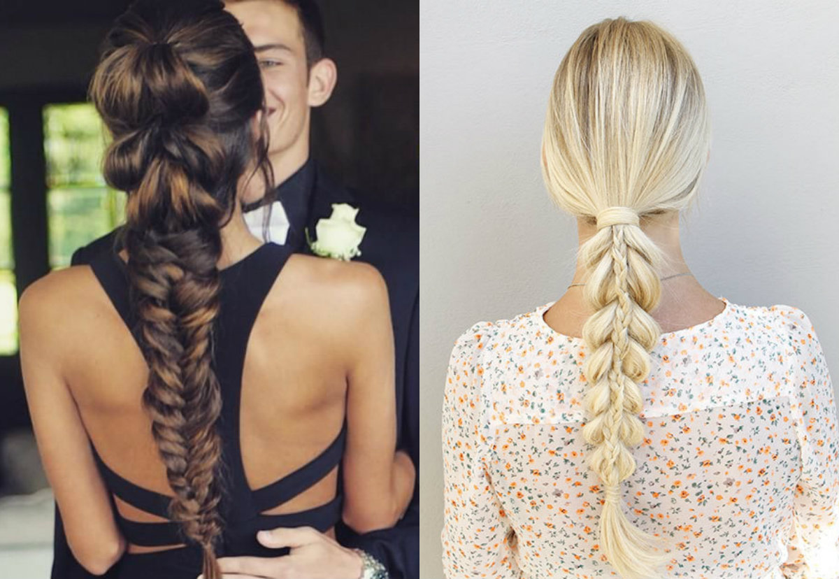Pull Through Braid Hairstyles For Notorious Looks