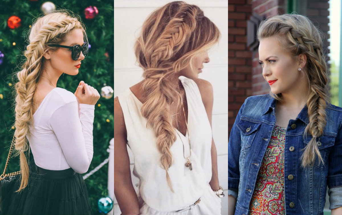Best Fishtail Braid Hairstyles Images - Styles & Ideas 2018 - colled ...
