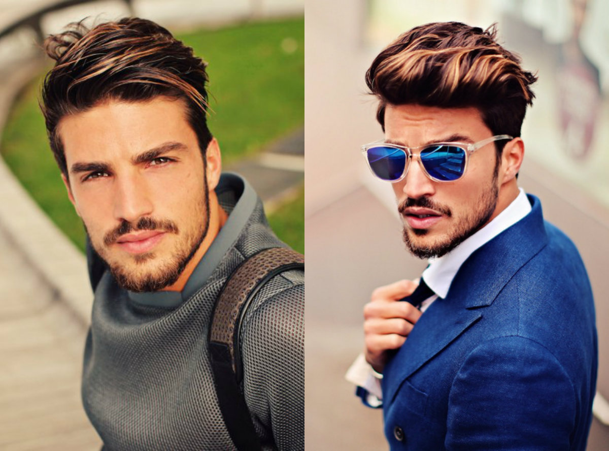 male pompadour hairstyles 2017