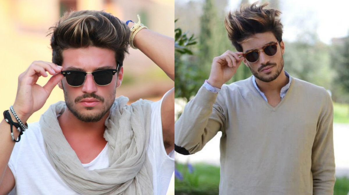 messy pompadour haircuts for men