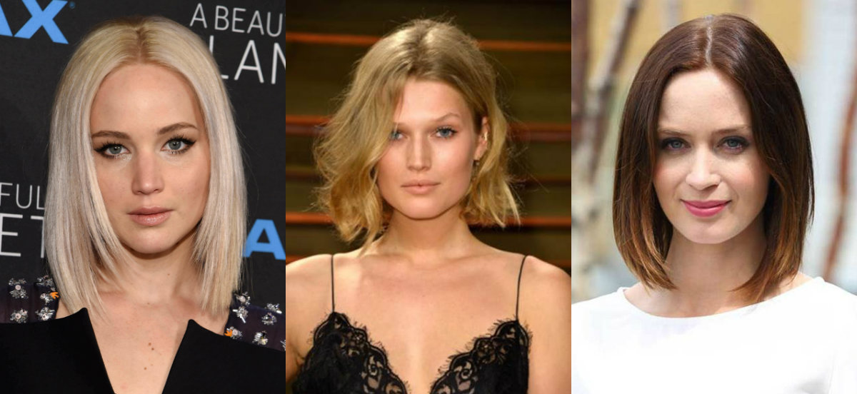 Middle Part Bob Hairstyles 2017