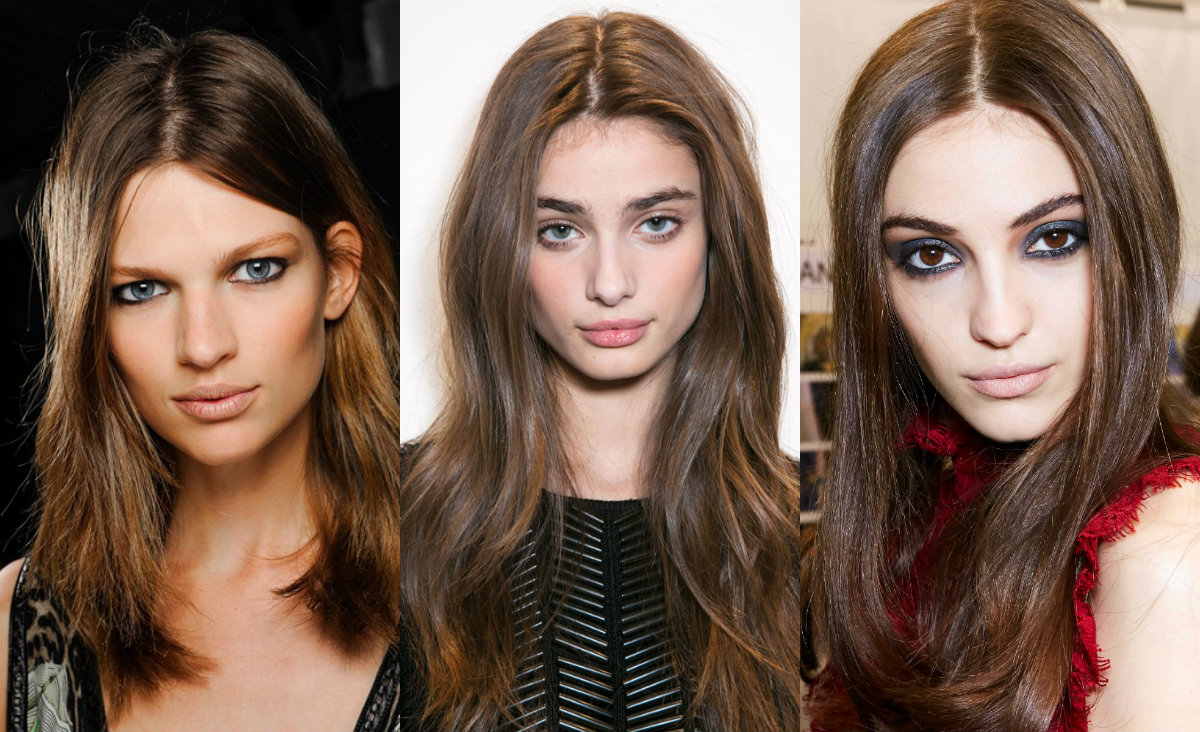 runway off centered hairstyles