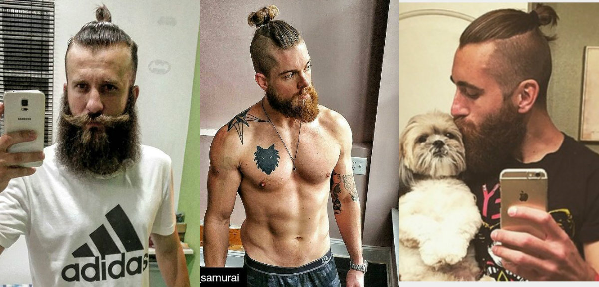 Amazing Samurai Knots Hairstyles For Men Have Become Mass Trend Short Hairstyles For Black Women Fulllsitofus