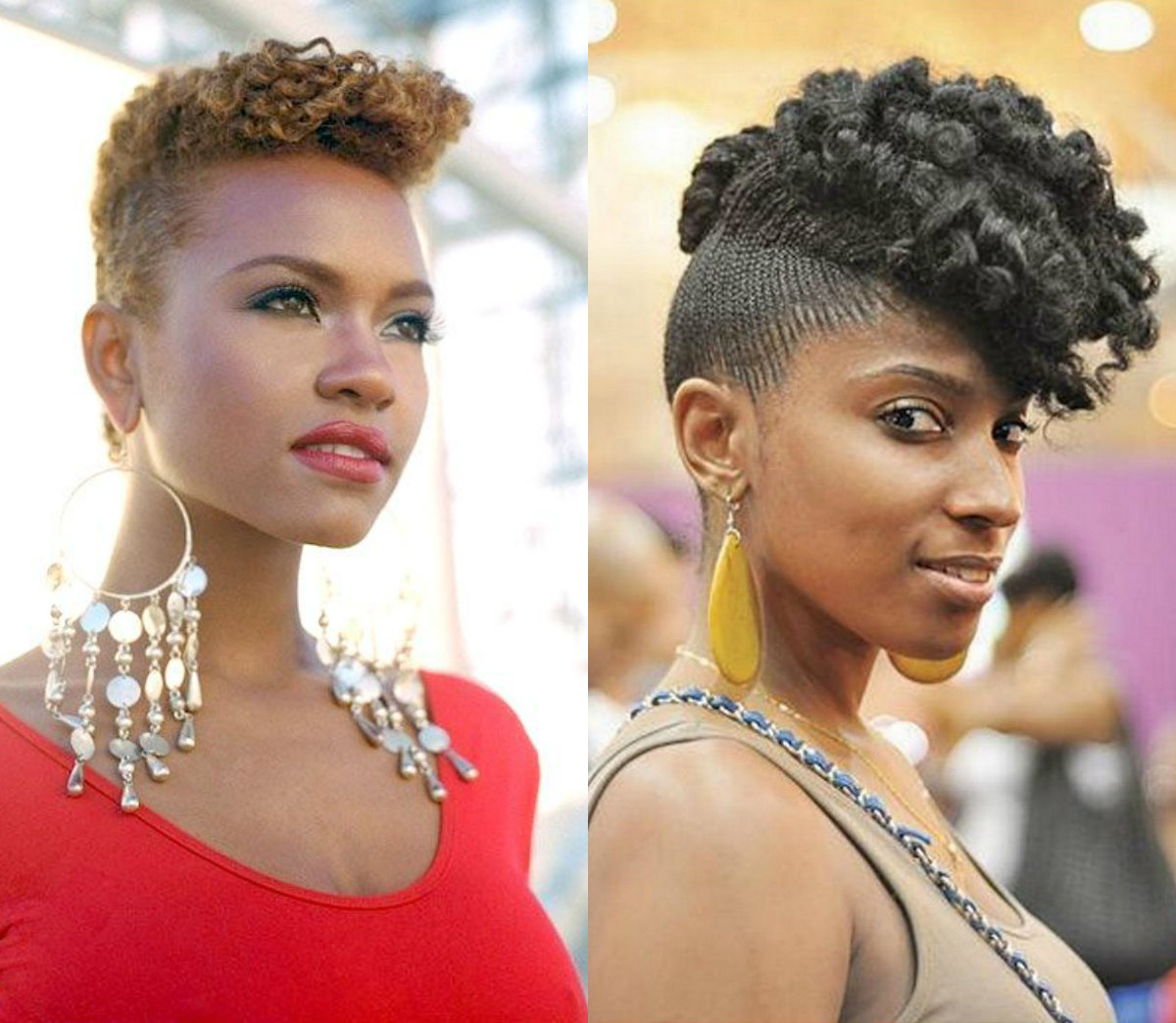 whimsical short curly haircuts for black women to opt asap